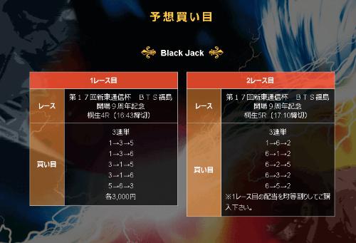 Jack 黒 N7月7日の画像