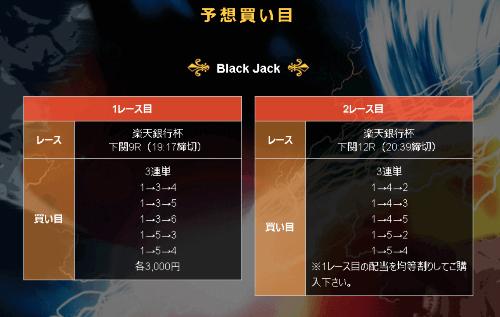 JACK 黒N7月15日の画像